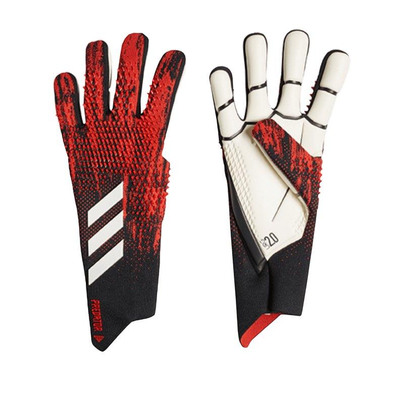 adidas Predator Pro TW-Handschuh Schwarz Rot - schwarz