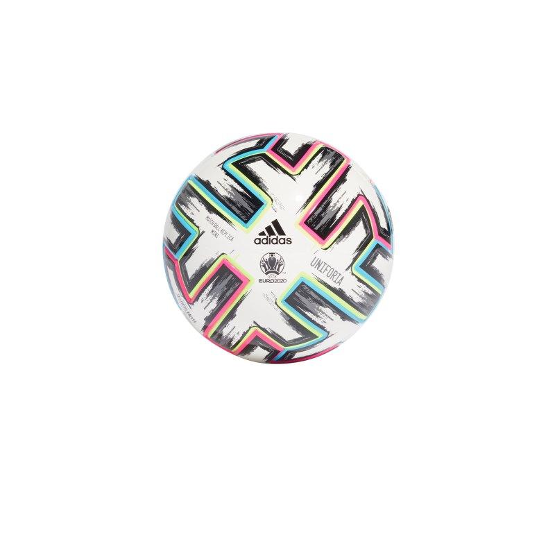 adidas Uniforia Mini Fussball Weiss - weiss