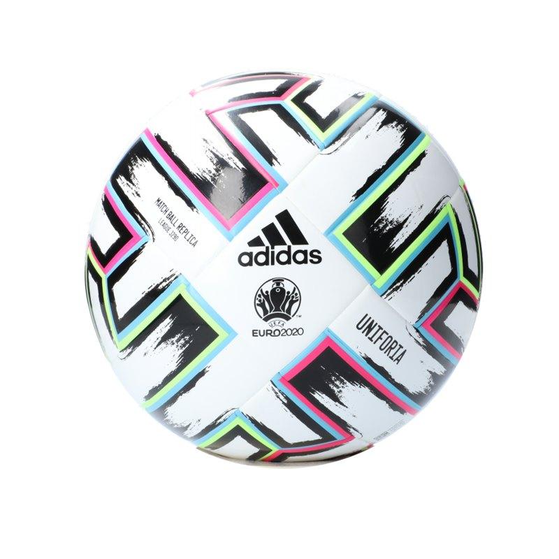 adidas LGE Uniforia 290 Gramm Fussball Weiss - weiss