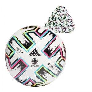 adidas LGE Uniforia Trainingsball Futsal 20x Gr.3 Weiss - weiss
