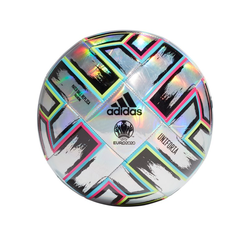 adidas TRN Uniforia Trainingsball Silber - silber
