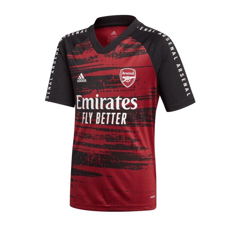 adidas FC Arsenal London Prematch Shirt Kids Rot - rot