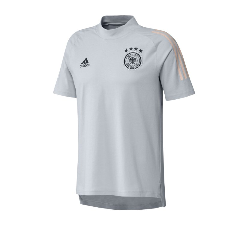 adidas DFB Deutschland Tee T-Shirt Hellgrau - grau