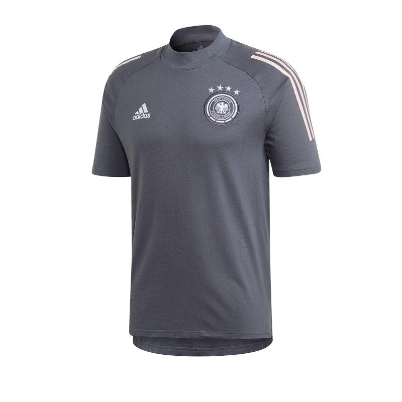 adidas DFB Deutschland Tee T-Shirt Grau - grau