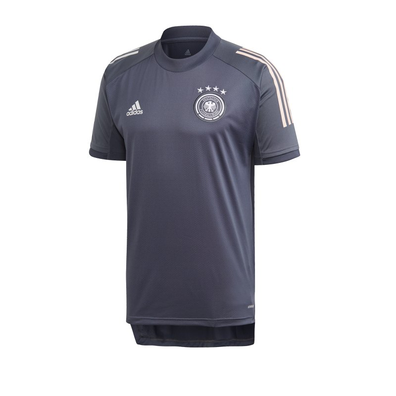 adidas DFB Deutschland Trainingsshirt Grau - grau