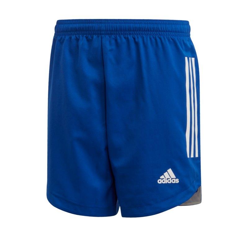 adidas Condivo 20 Short Kids Blau Weiss - blau
