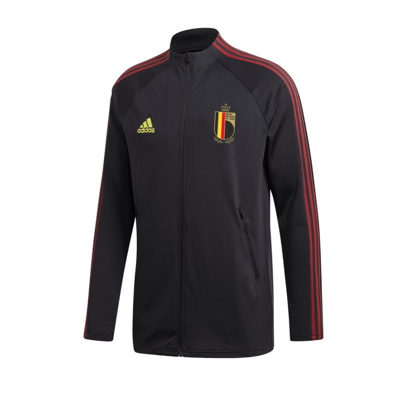 adidas Belgien Präsentationsjacke Schwarz - schwarz