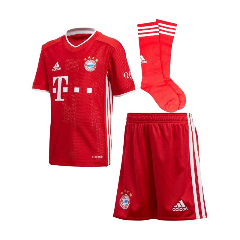adidas FC Bayern München Minikit Home 2020/2021 - rot