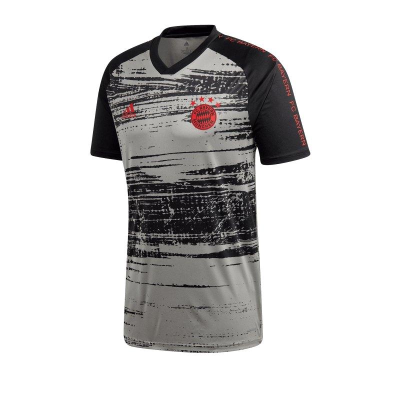 adidas FC Bayern München Prematch Shirt Grau - grau
