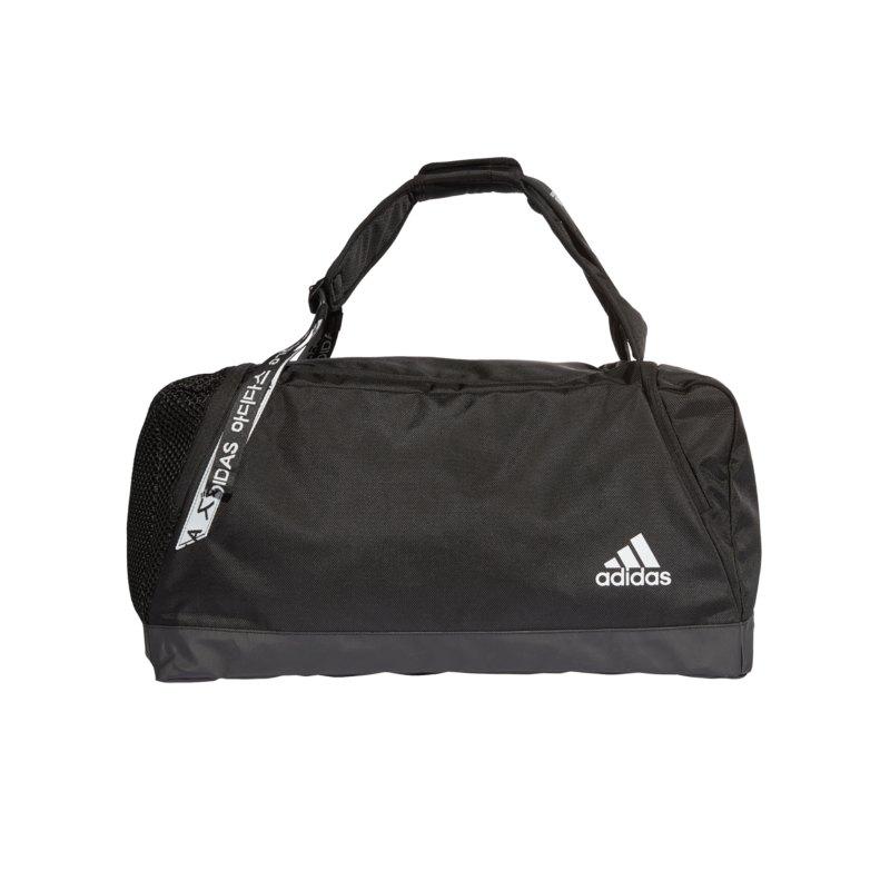 adidas Sporttasche Schwarz Weiss - schwarz