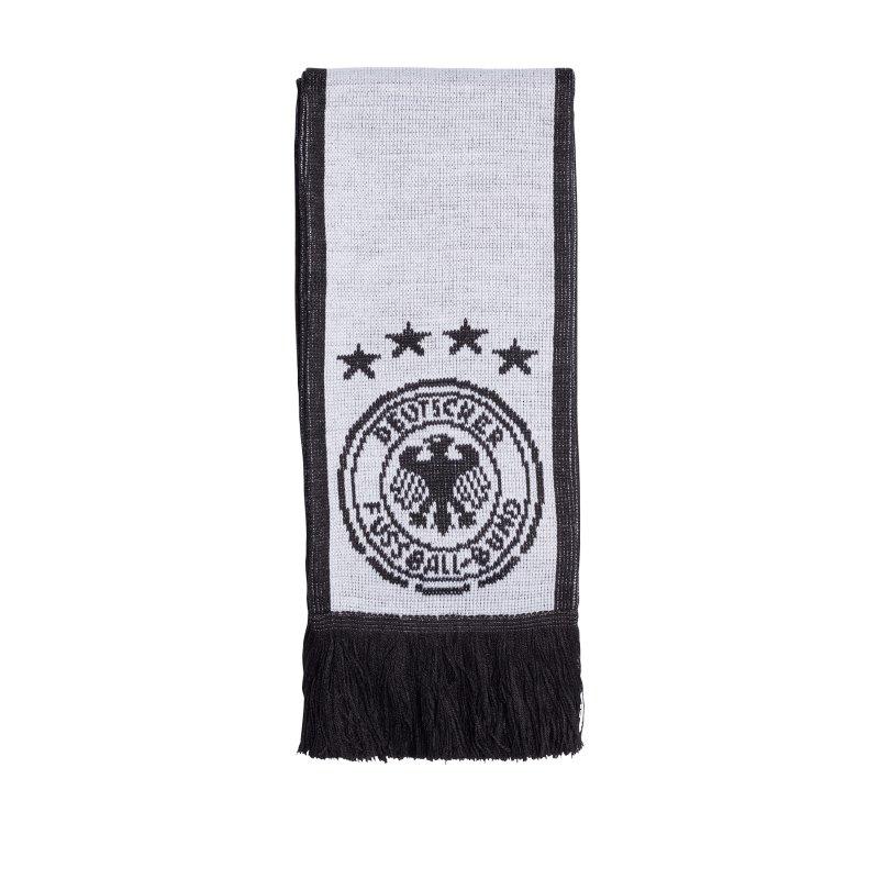 adidas DFB Deutschland Home Schal Weiss Schwarz - weiss