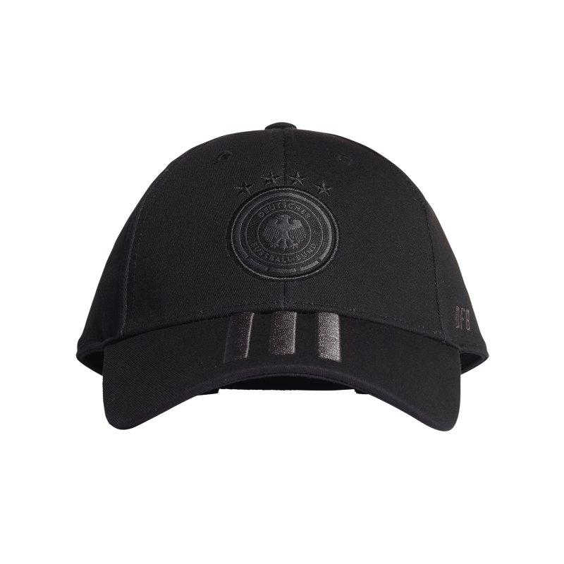 adidas DFB Deutschland H/A Cap Kappe Schwarz - schwarz