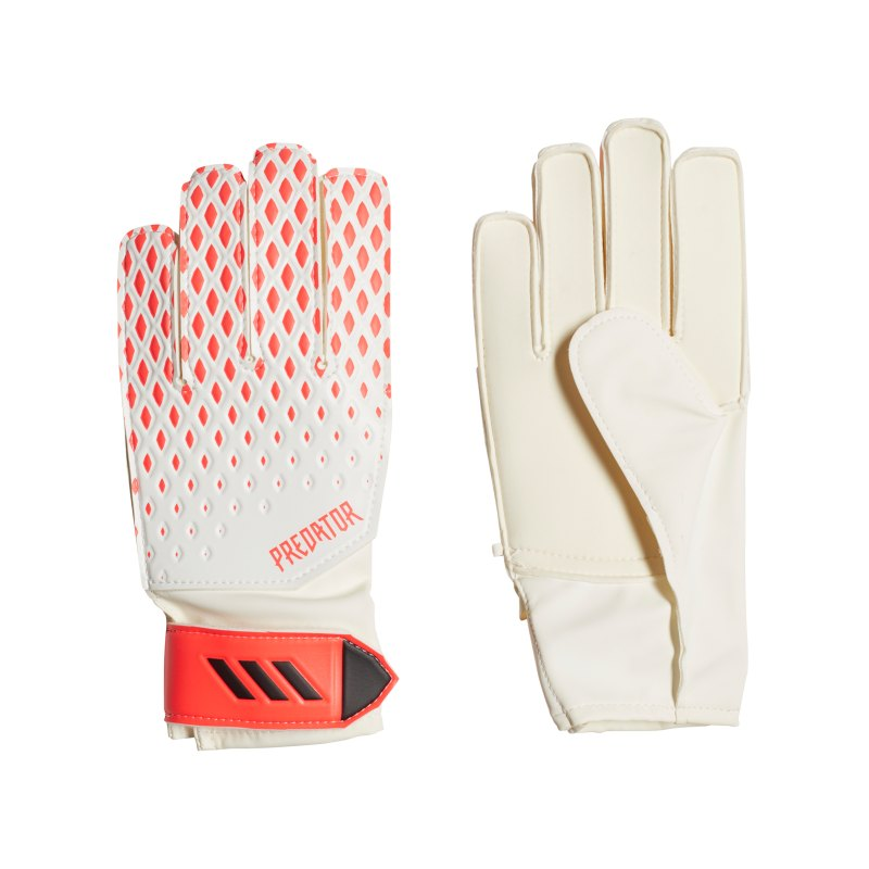 adidas Predator TRN TW-Handschuh Kids Weiss Rosa - weiss