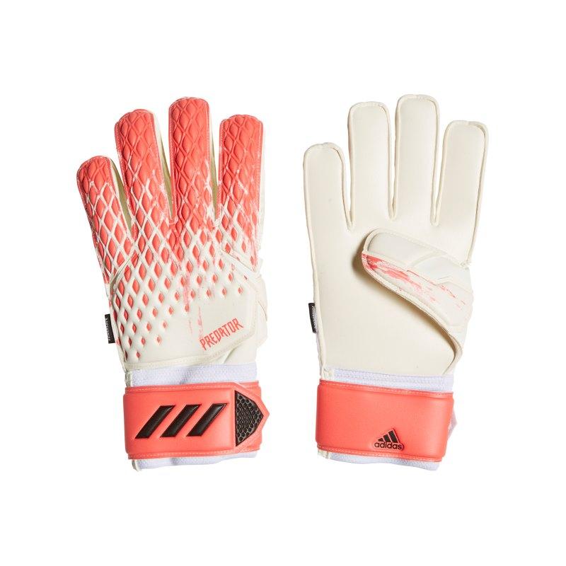 adidas Predator Uniforia MTC FS TW-Handschuh Weiss Rosa - weiss
