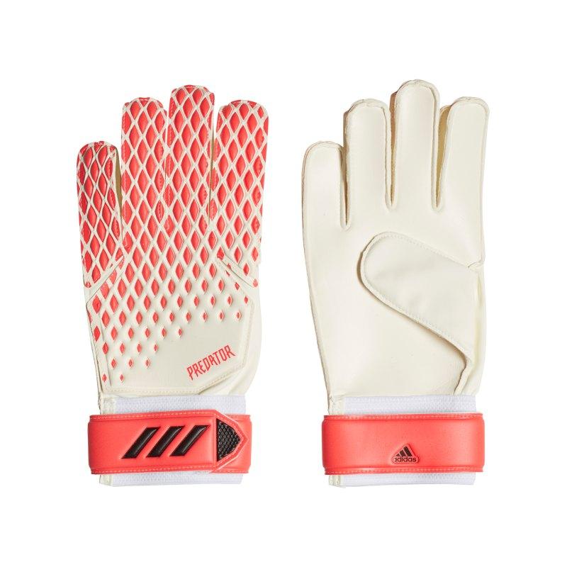 adidas Predator TRN TW-Handschuh Weiss Rosa - weiss