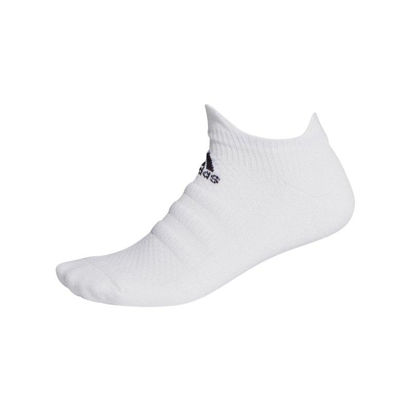 adidas Alphaskin Low LC Socken Weiss - weiss