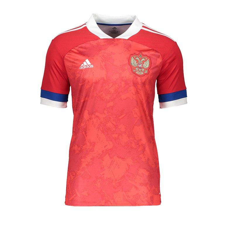 adidas Russland Trikot Home EM 2020 Kids Grau - rot