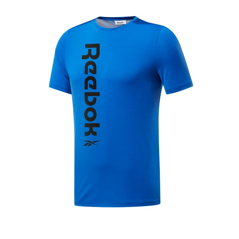 Reebok Workout Ready Activchill T-Shirt Blau - blau