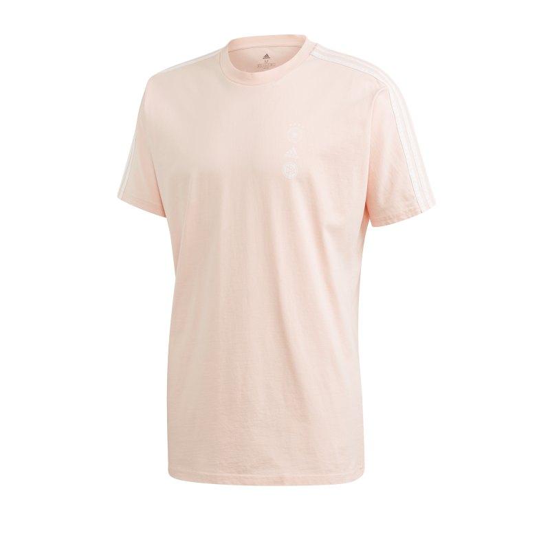 adidas DFB Deutschland SSP T-Shirt Pink - pink