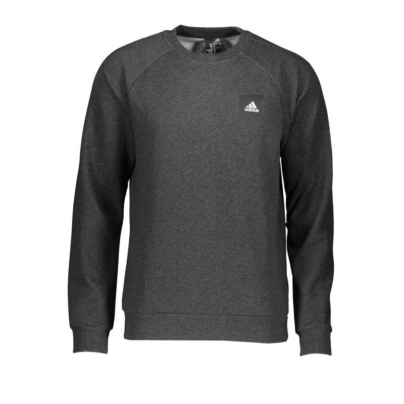adidas MH Stadium Crew Sweatshirt Schwarz - schwarz