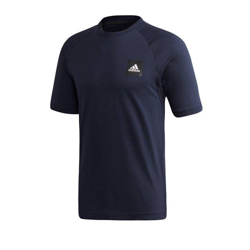 adidas MH Stadium T-Shirt Blau - blau