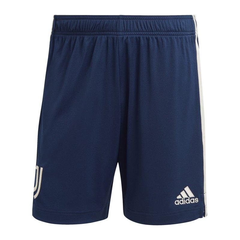 adidas Juventus Turin Short Away 2020/2021 Blau - blau