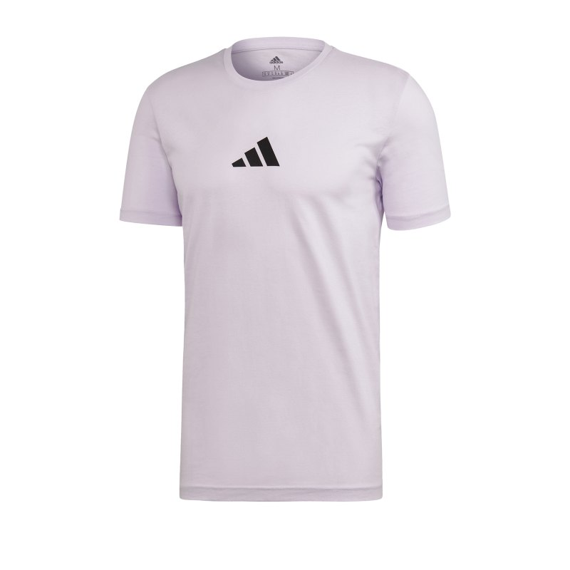 adidas PACK Multi Hit Tee T-Shirt Lila - lila