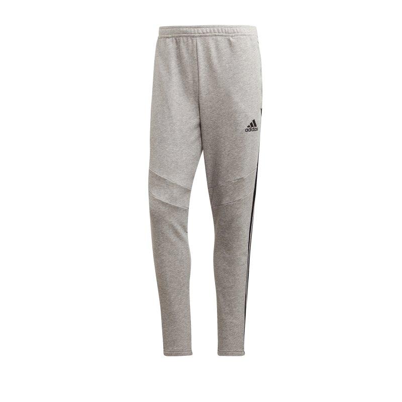 adidas Tiro 19 Jogginghose FT lang Grau - grau