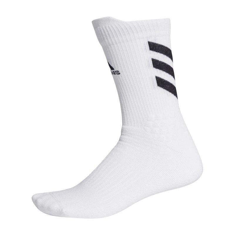 adidas Alphaskin Crew MC Socken Weiss - weiss