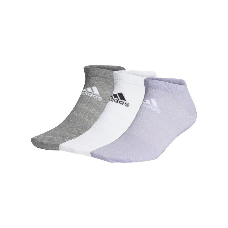 adidas Light Füsslinge Socken 3er Pack Weiss - weiss