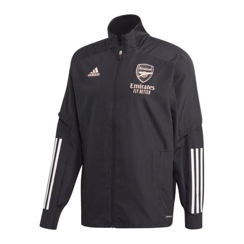 adidas FC Arsenal London UCL Präsentationsjacke - schwarz