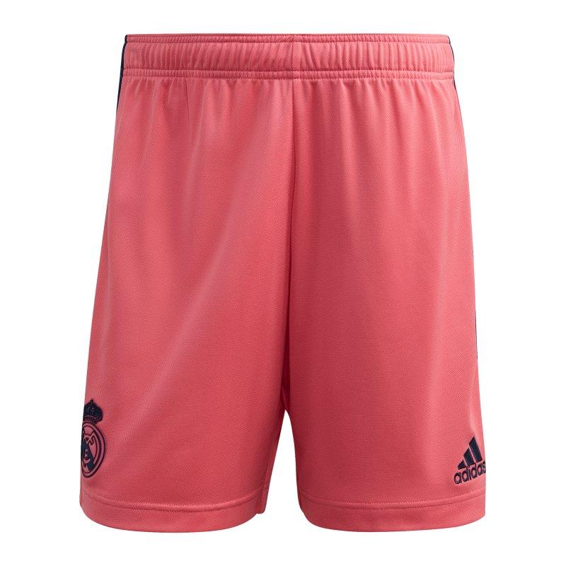 adidas Real Madrid Short Away 2020/2021 Kids Pink - pink