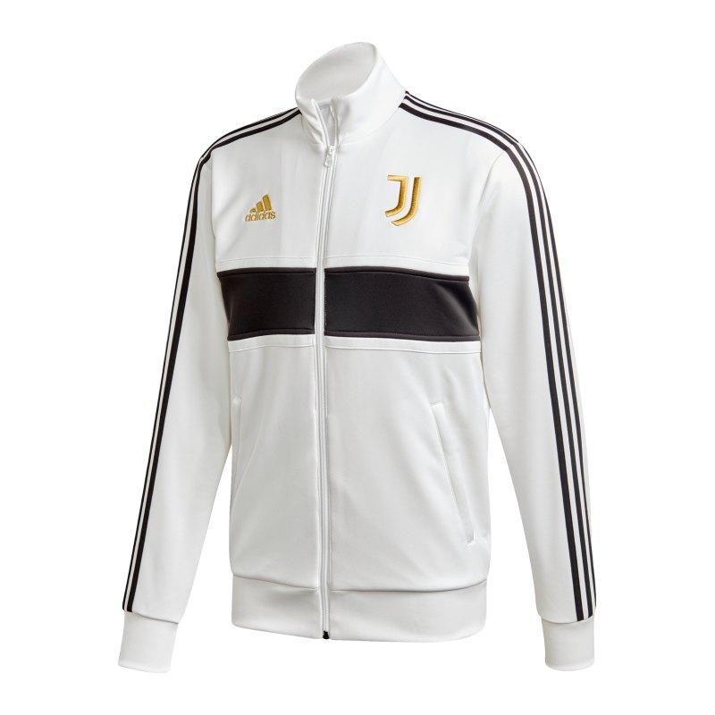 adidas Juventus Turin 3S Trainingsjacke Weiss - weiss