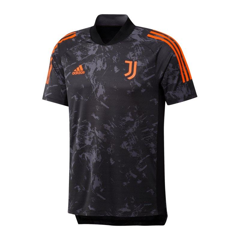 adidas Juventus Turin UCL Trainingsshirt Schwarz - schwarz