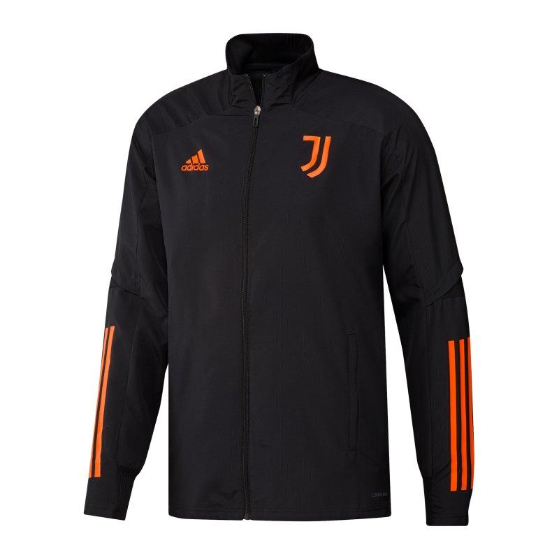 adidas Juventus Turin UCL Präsentationsjacke - schwarz