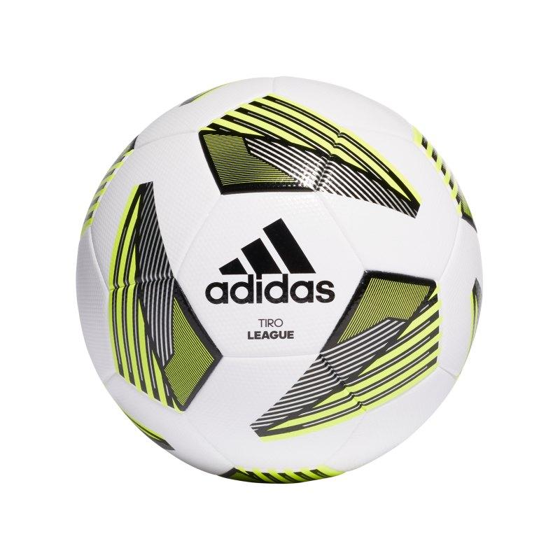 adidas Tiro League TSBE Fussball Weiss - weiss