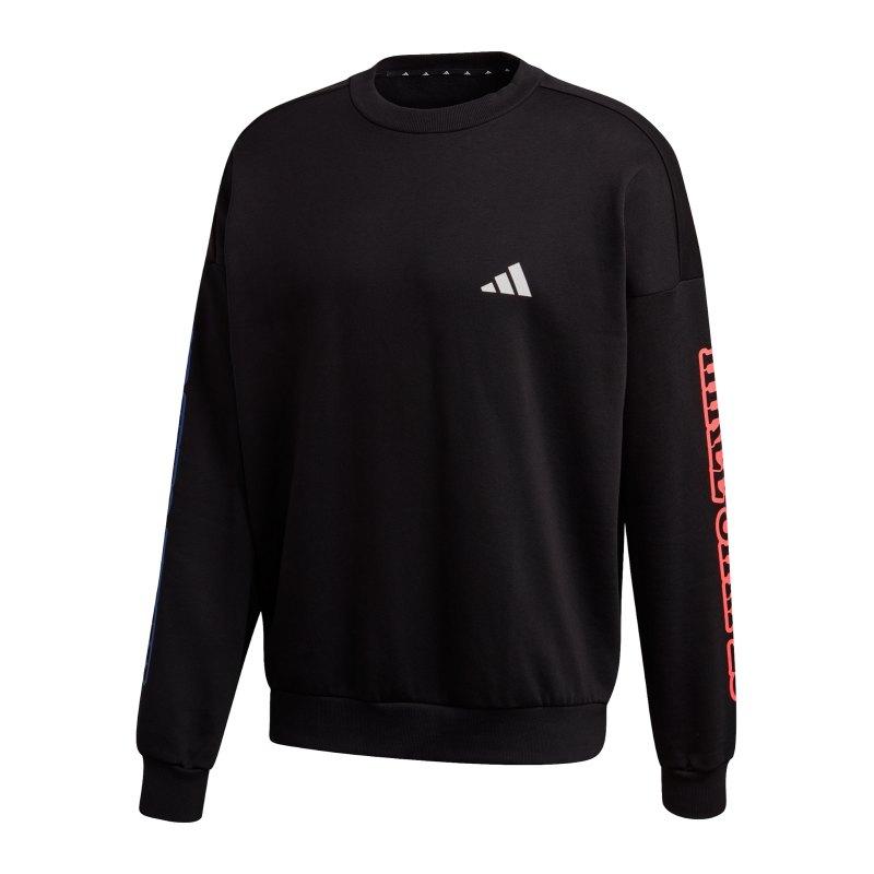adidas Urban Q3 Sweatshirt Schwarz - schwarz