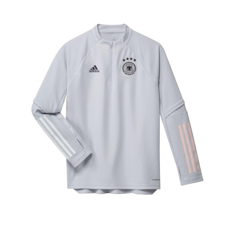 adidas DFB Deutschland Trainingstop Kids Hellgrau - grau