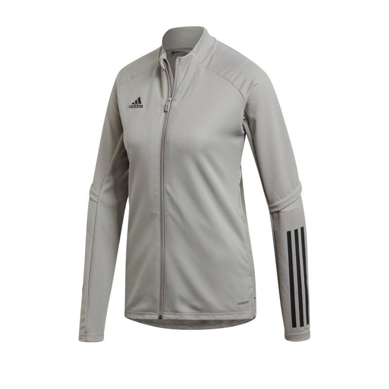adidas Condivo 20 Trainingsjacke Damen Grau - grau