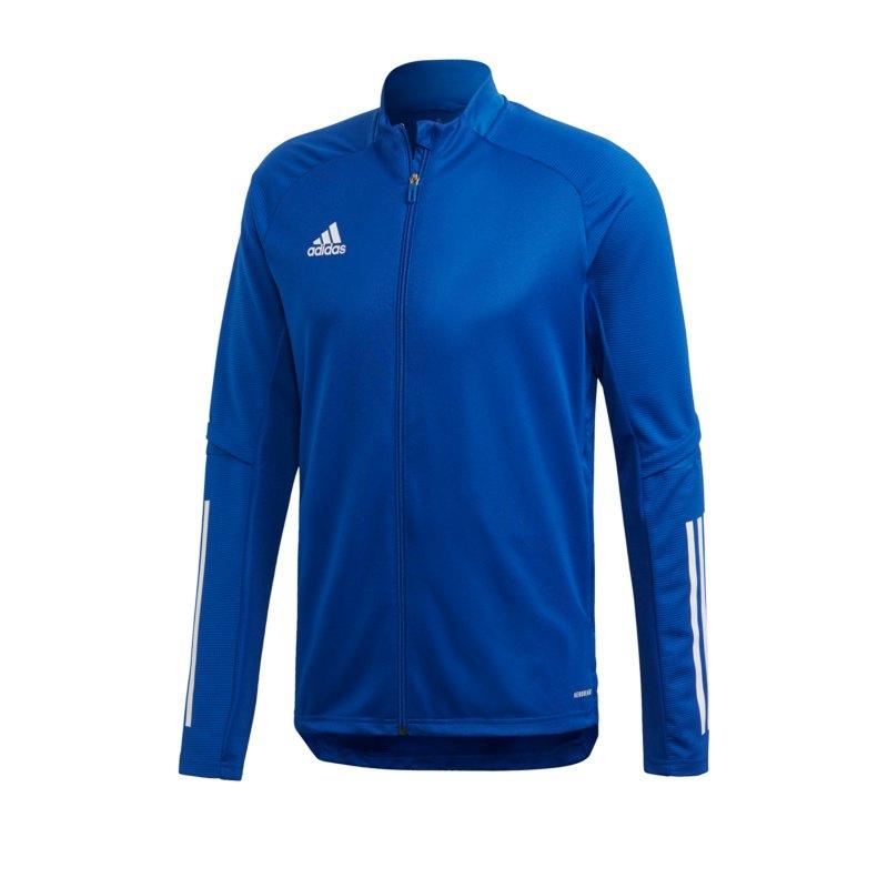 adidas Condivo 20 Trainingsjacke Blau - blau