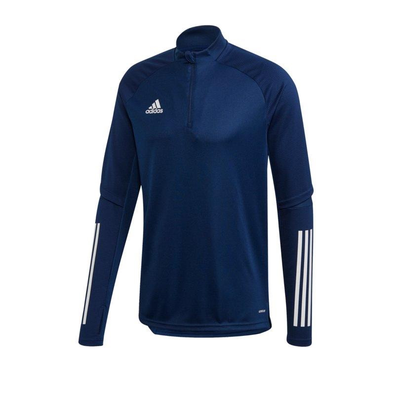 adidas Condivo 20 Trainingstop LA Dunkelblau - blau