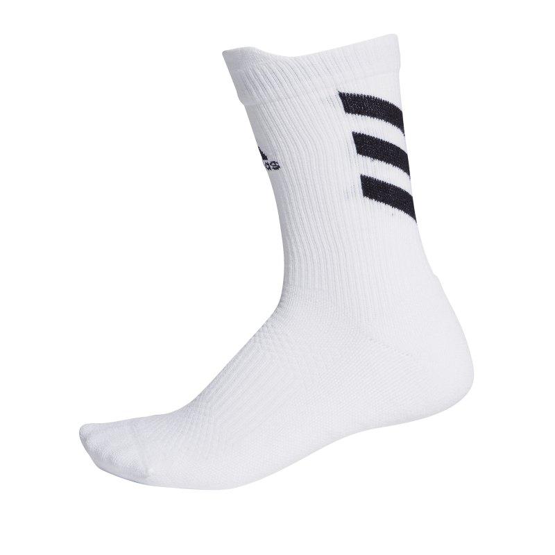 adidas Alphaskin Low Cushion Socken Weiss - weiss