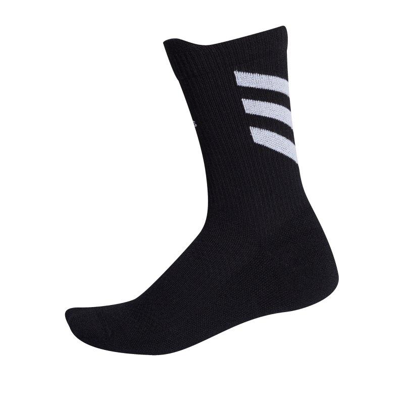 adidas Alphaskin Low Cushion Socken Schwarz - schwarz