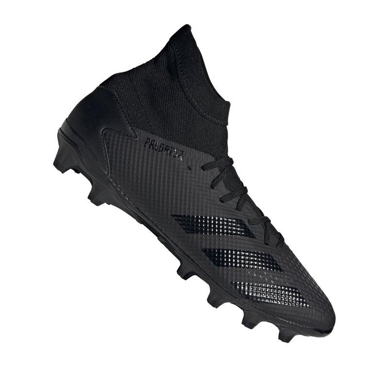 adidas Predator 20.3 MG Schwarz Grau - schwarz