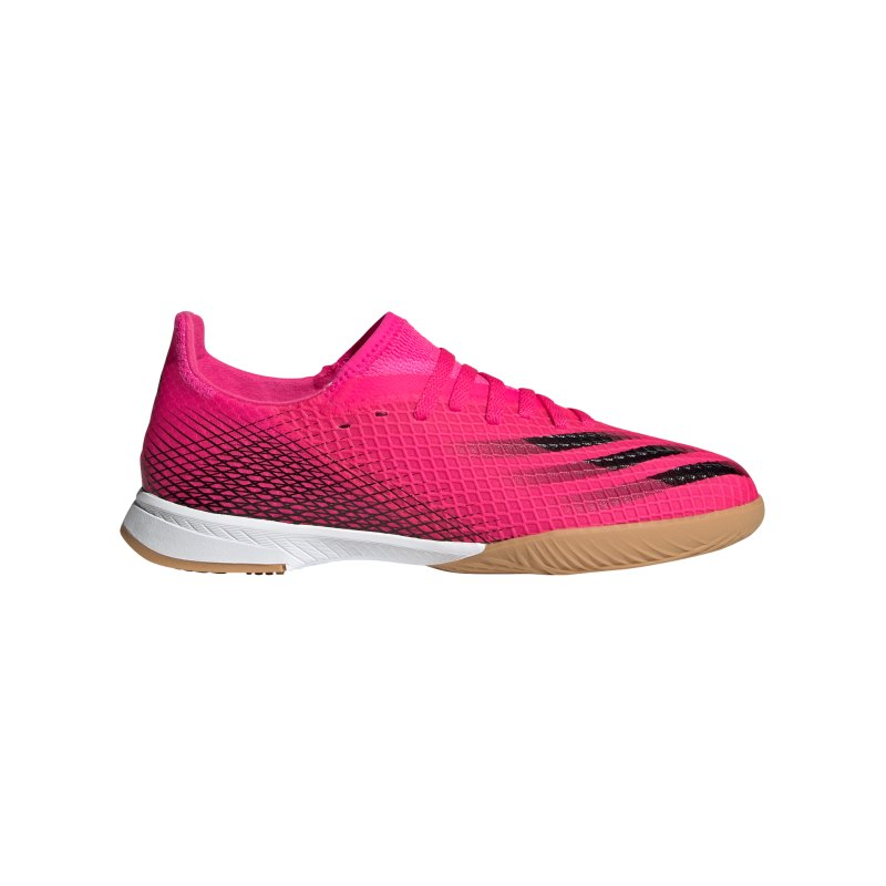 adidas X GHOSTED.3 IN Halle Superspectral J Kids Pink Schwarz Orange - pink