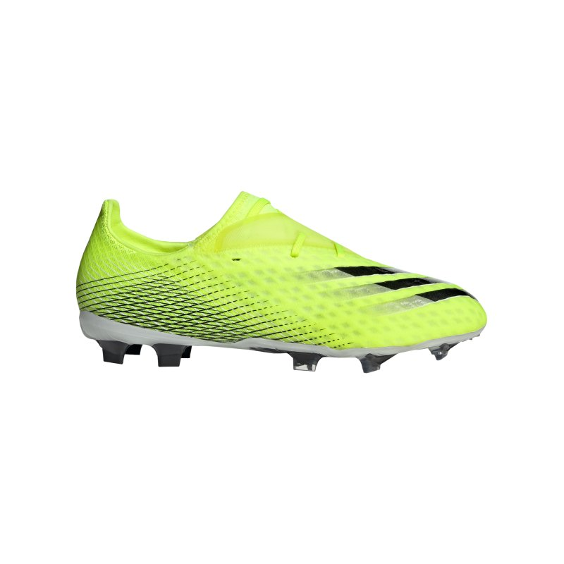 adidas X GHOSTED.2 FG Superlative Gelb Weiss - gelb