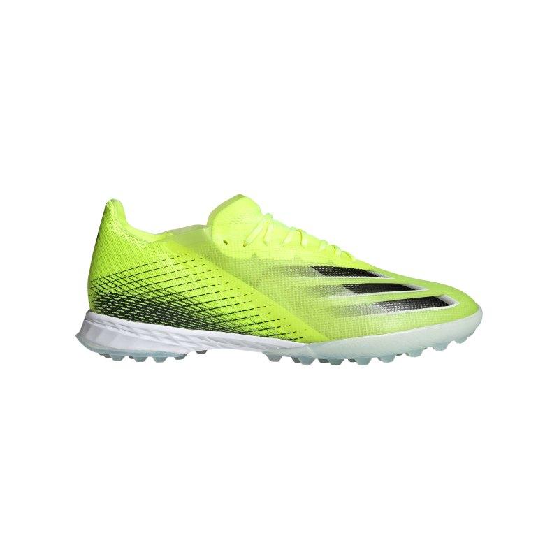 adidas X GHOSTED.1 TF Superlative Gelb Schwarz - gelb