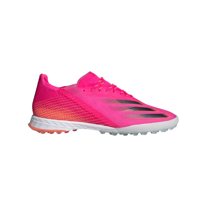 adidas X GHOSTED.1 TF Superspectral Pink Schwarz Orange - pink