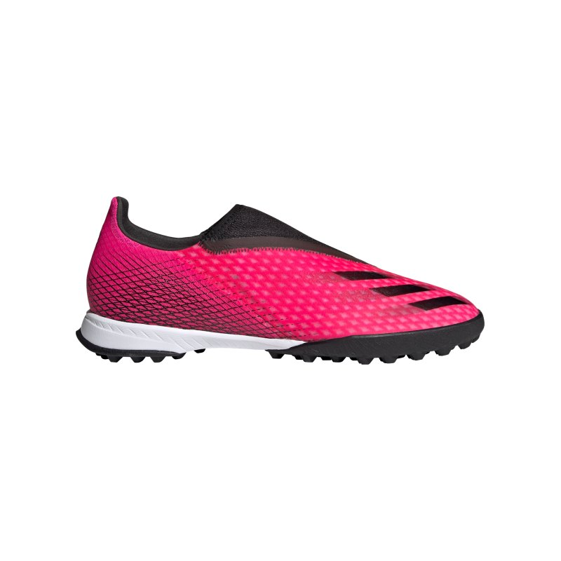adidas X GHOSTED.3 LL TF Superspectral Pink Schwarz Orange - pink