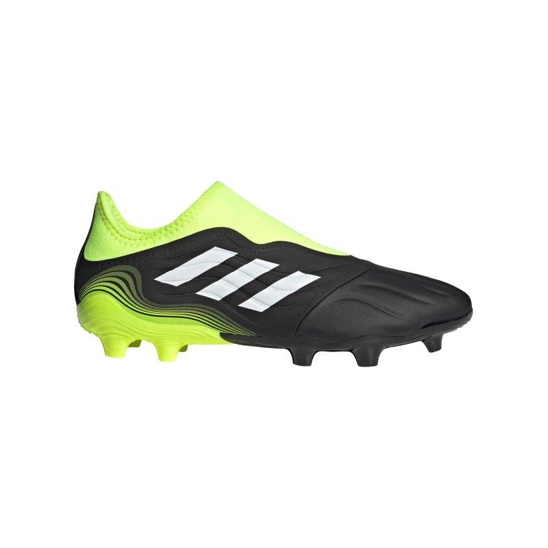 adidas COPA SENSE.3 LL FG Superlative Schwarz Gelb - schwarz